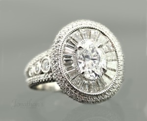 1940s Vintage Engagement Rings