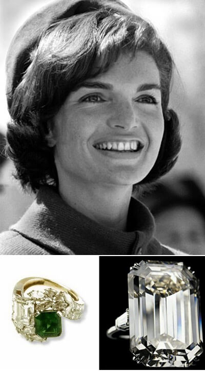 The Engagement Rings of Jackie Kennedy Onassis
