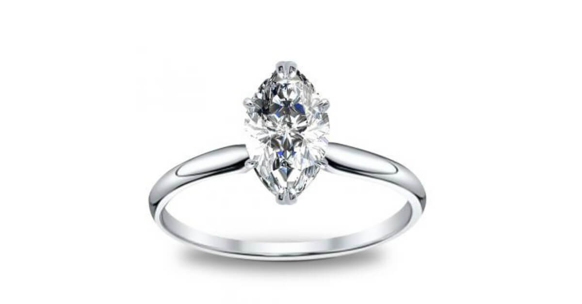 ring products marquise engagement artemer art deco diamond marquee