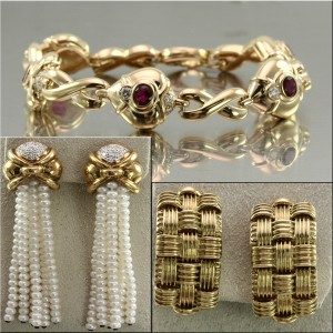 Gold Estate Jewelry
