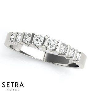 diamond setting types, channel bar