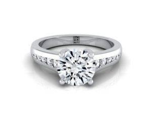 channel diamond setting types
