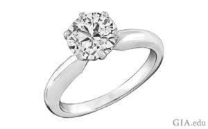 prong diamond setting