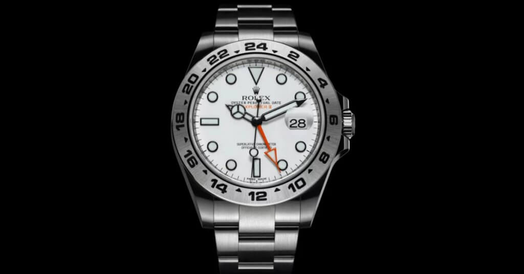 How do you wind a rolex explorer?