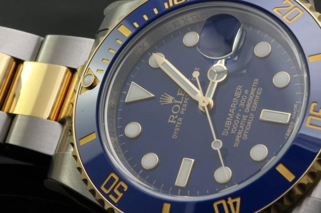 Blue Dial Submariner