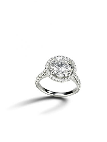 Cartier Destine Engagement Ring
