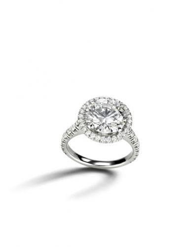 Cartier Destine Engagement Ring