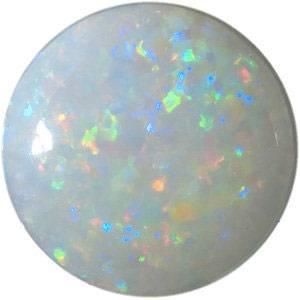Round Opal Gemstone