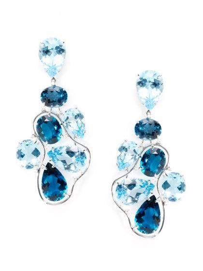 Vianna Brazil Blue Topaz