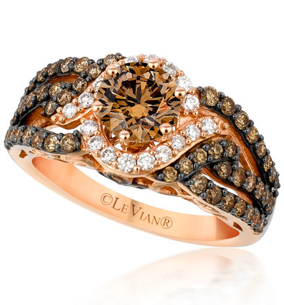 chocolate wedding rings le vian chocolate diamonds jonathan s jewelers 2917