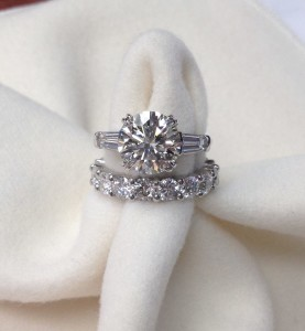 Perfect Custom Diamond Ring