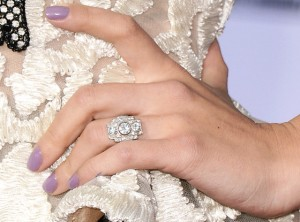 Scarlet Johansson Engagement Ring