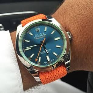 Rolex Milgauss Orange Band