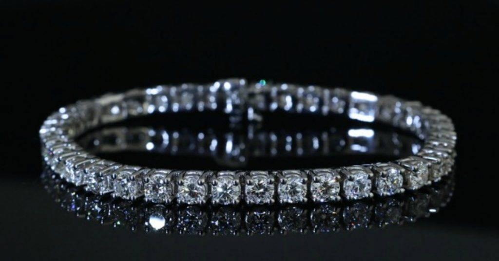 Tennis bracelet from Jonathan's Fine Jewelers
