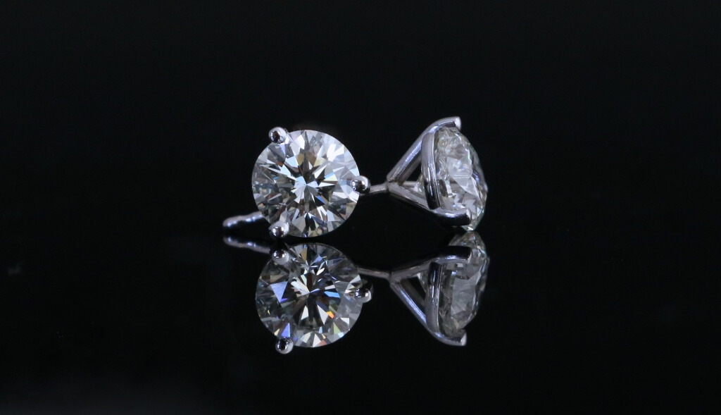 Diamond Stud Earrings from Jonathan's Fine Jewelers