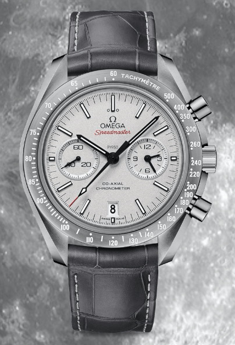Omega Moonwatch - Grey Side of the Moon