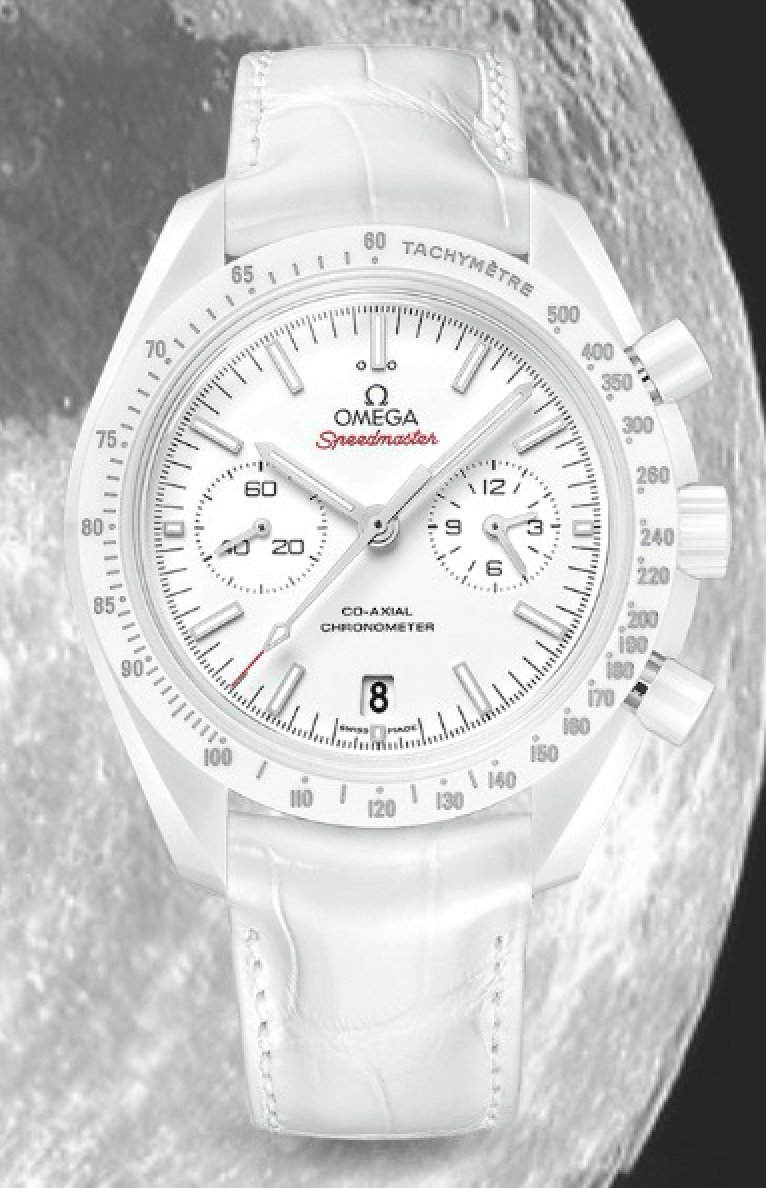 Omega Moonwatch - White Side of the Moon