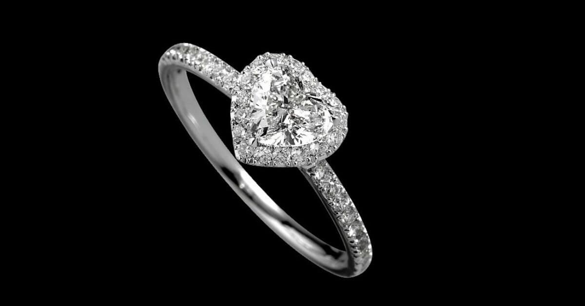 heart shaped diamonds at Jonathan's Fine Jewelers in Houston, Texas
