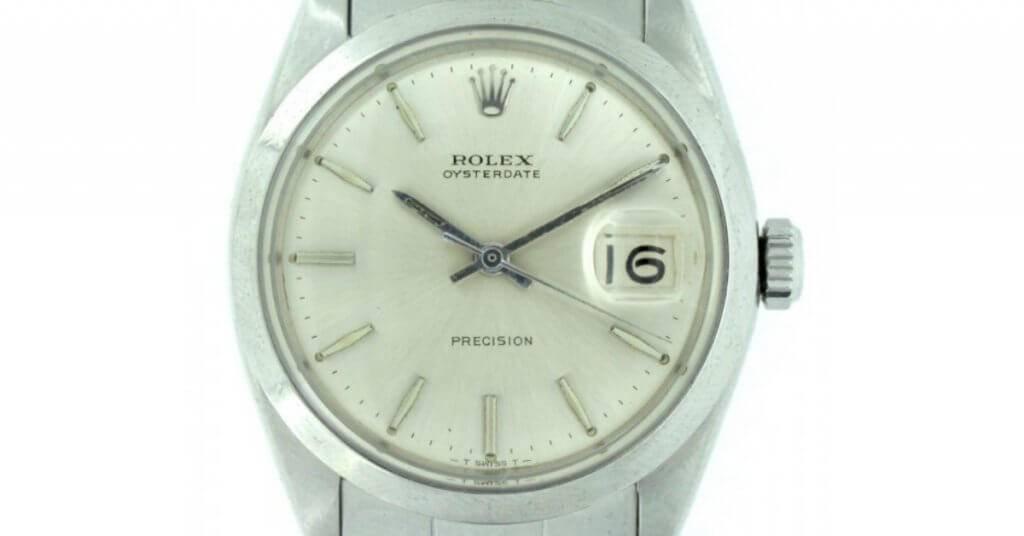 The Rolex Oysterdate Precision ref. 6694