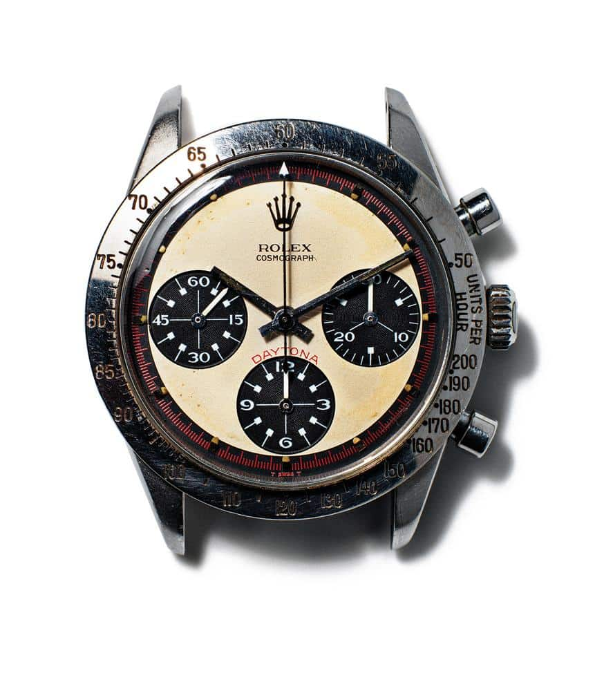 The Paul Newman Daytona has been found