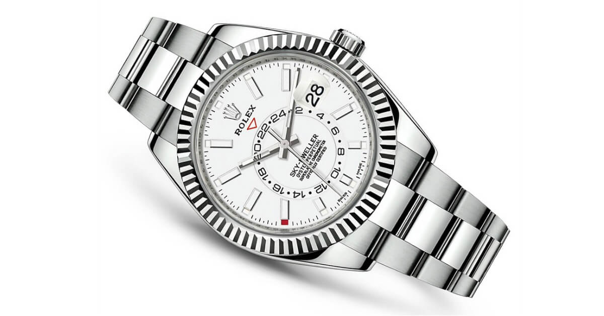 A Look at the 2017 Rolex Sky-Dweller Reference 326934 - Jonathan's ...