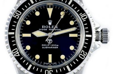 The 'MilSub' Rolex Military Submariner