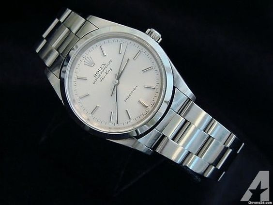 Rolex Air King- Then and Now