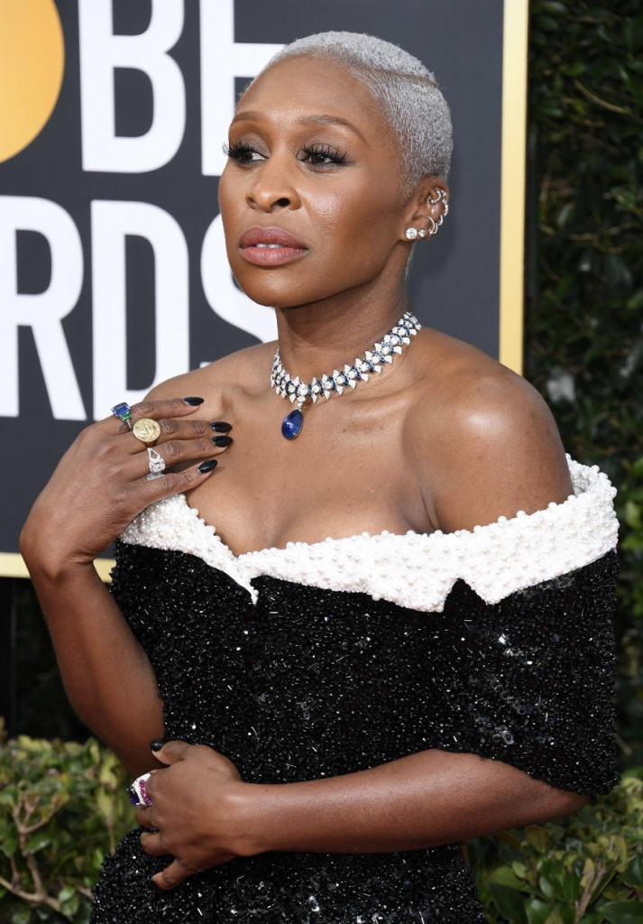 Jewelry from the 2020 Golden Globes