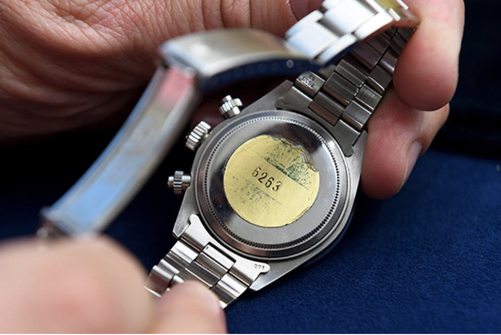 Practically unworn Rolex Daytona appraises for $700,000 on Antiques Roadshow