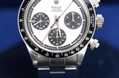A Paul Newman Rolex Daytona watch that was appraised on Antiques Roadshow for $700,000