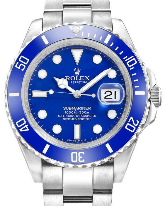 Rolex Smurf Submariner
