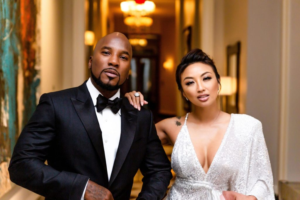 Jeezy and Jeannie Mai celebrity engagement style