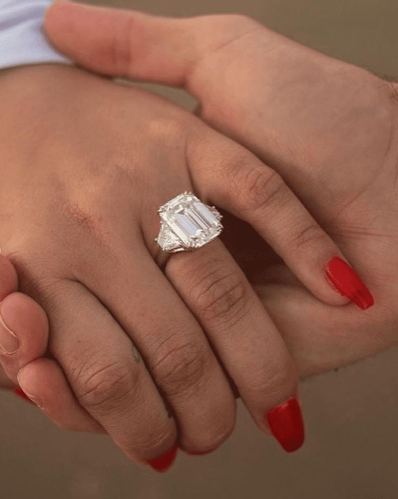 Demi Lovato's engagement ring