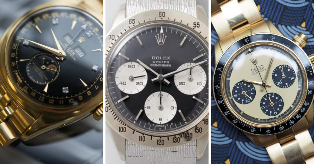 most expensive Rolex models ever sold