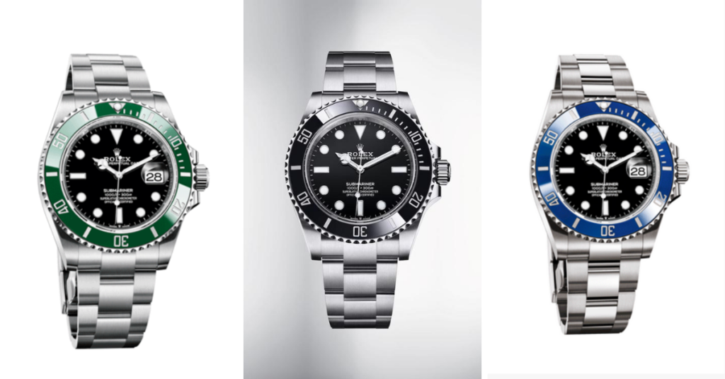 images of the new Rolex Submariner 2020 releases