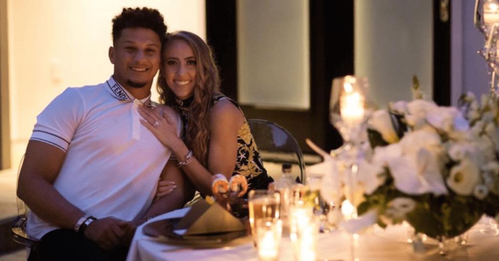 Patrick Mahomes and Brittany Mathews are engaged
