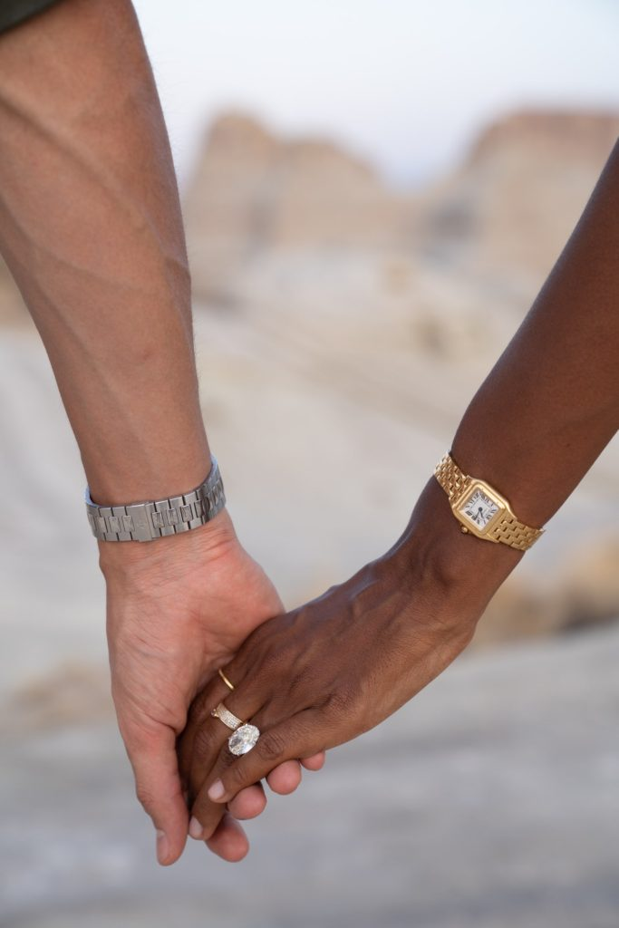 Jasmine Tookes and Juan David Berrero engagement ring
