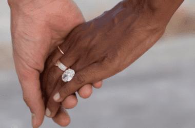 Jasmine Tookes engagement ring