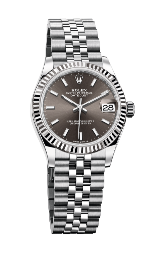 datejust 31 dark grey