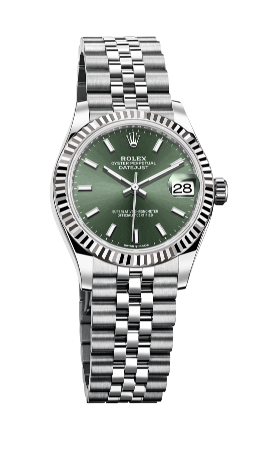 2020 datejust 31 mint green