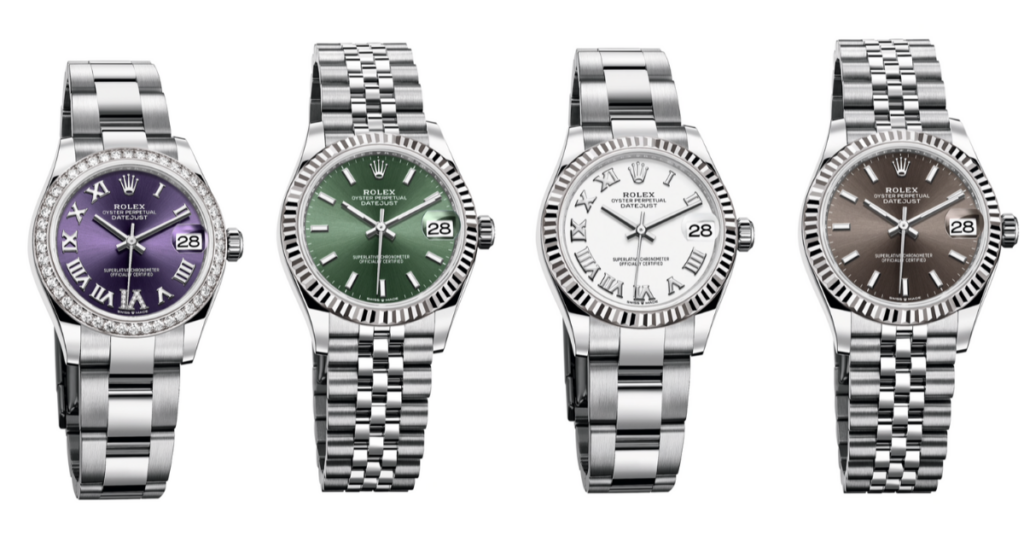 newly released Datejust 31