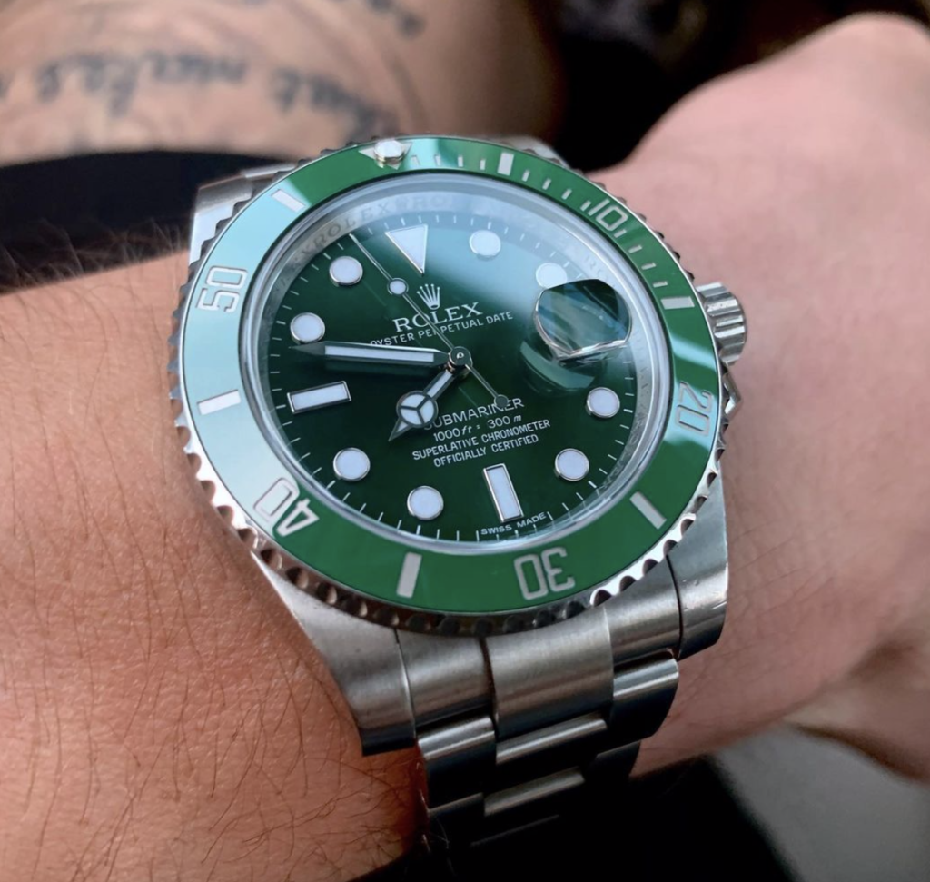 Rolex submariner as men's last minute gift idea