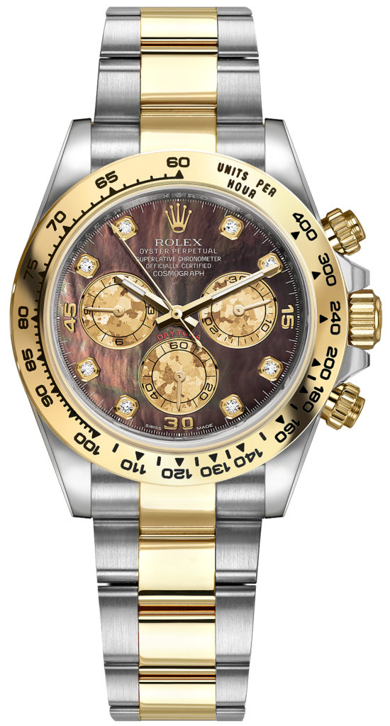 Rolex Daytona mother of pearl black, ref. 116503