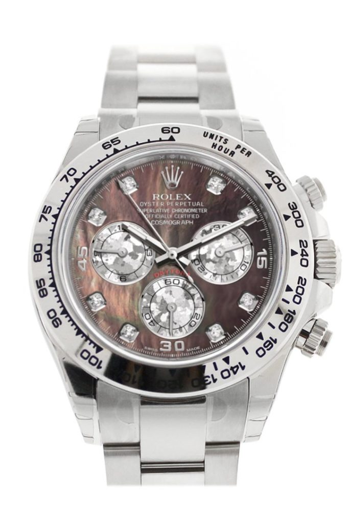 rolex Daytona black mother of pearl dial ref. 116509