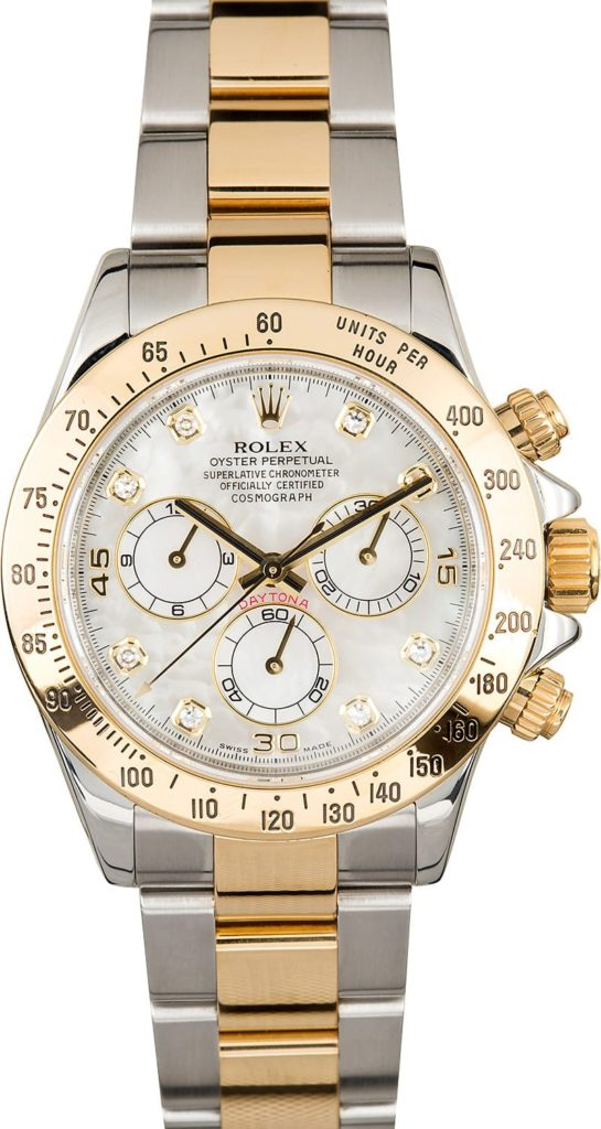 Rolex Daytona mother of pearl dial ref. 116523