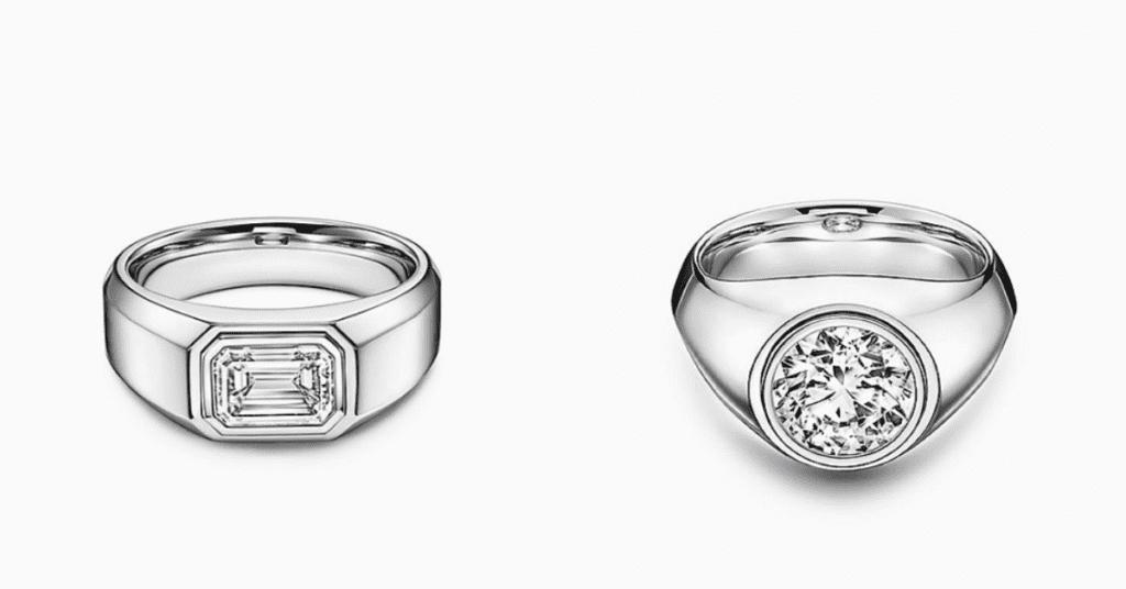 Tiffany & Co. Engagement rings for men