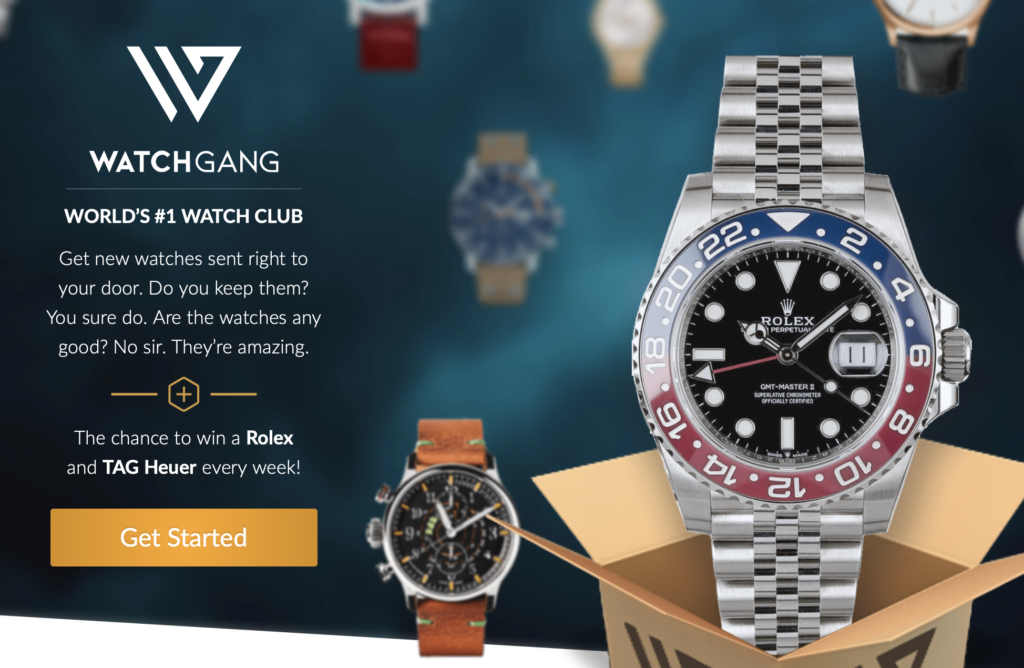 watch subscription option: Breitling