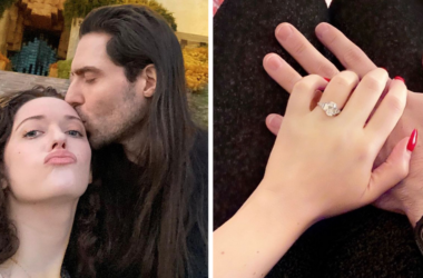 Kat Dennings and Andrew W.K. are engaged