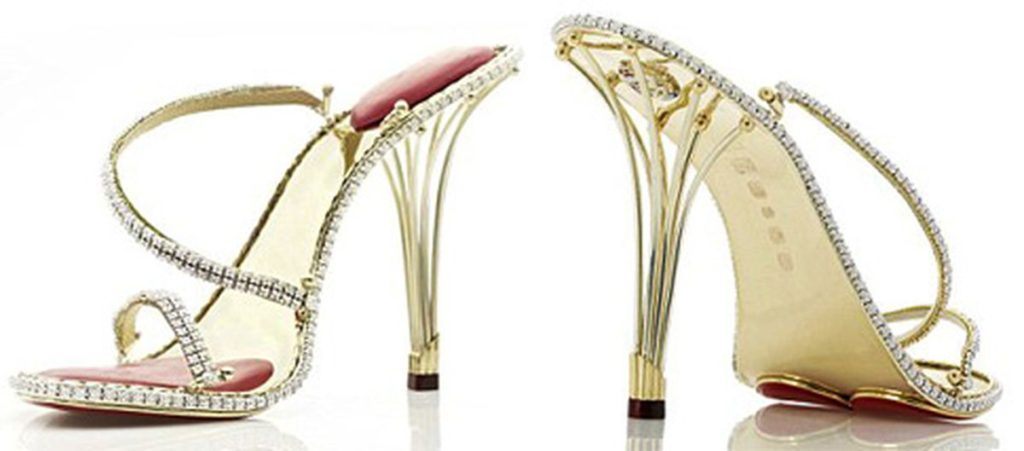 diamond uses- stilettos